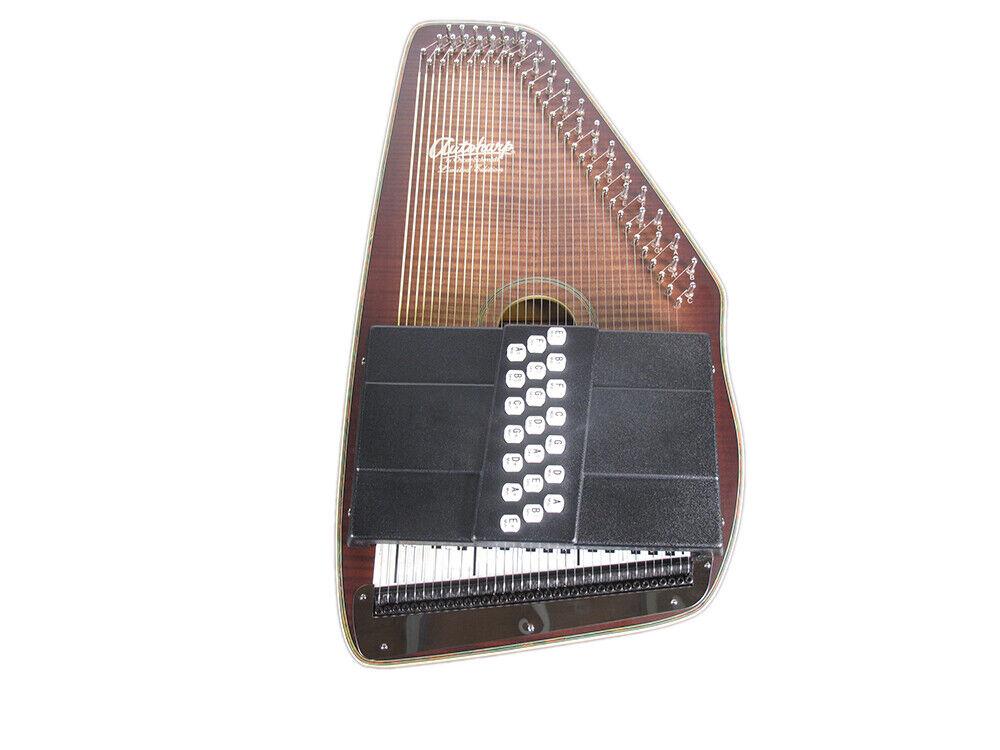 Oscar Schmidt OS11021FDF AutoHarp - Distressed Finish 21 Chord