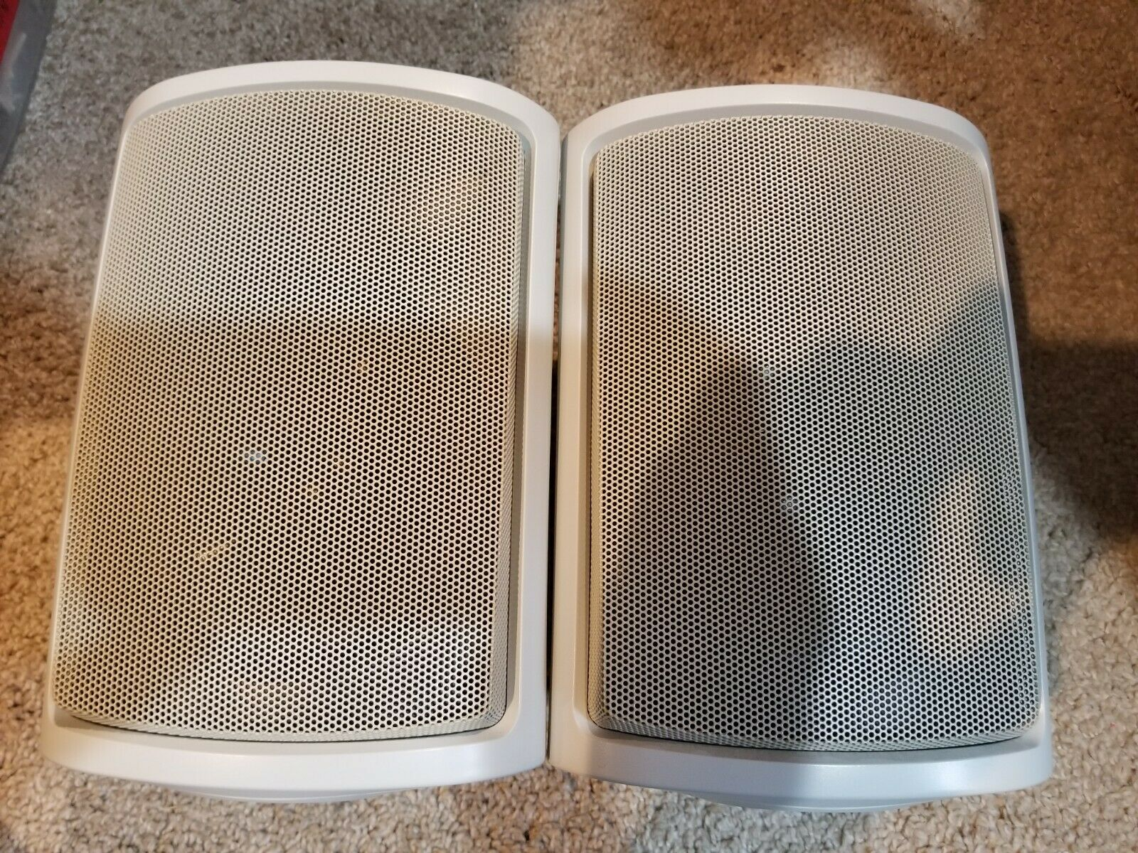 Presidian Indoor Outdoor Speakers 40-4112 White Pair - POD-4112