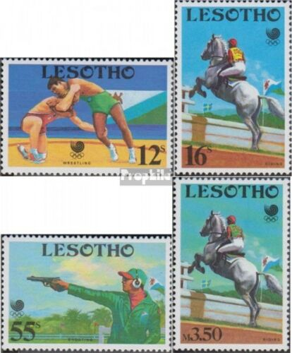 lesotho 727730 complete issue unmounted mint never hinged 1988 Olympics Sum