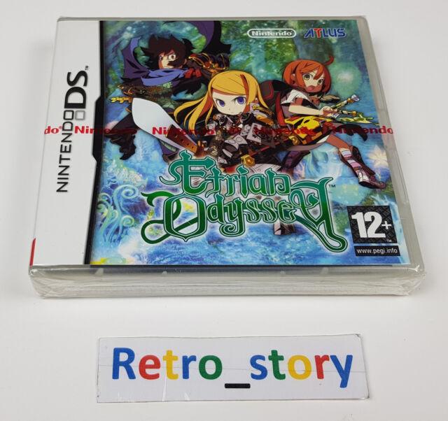 Nintendo DS Etrian Odyssey NEUF / NEW PAL
