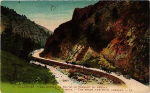 Les Gorges CPA OLLIOULES 83