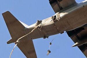 US-Army-Military-Parachute-Deployment-Bag-T-11-Main-D-BAG-Airborne-OD-Green