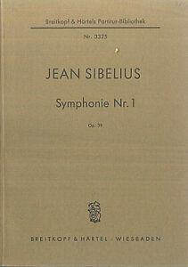 Taschenpartitur-Jean-Sibelius-Sinfonie-Nr-1-op-39