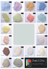 #CP1 AZZURRO BLUE shabby craft FURNITURE 11oz chalk powrde PAINT makes 2 L