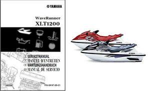 yamaha waverunner xlt1200 jet boat service repair manual cd xlt rh ebay com Yamaha Waverunner XLT 1200 2003 yamaha waverunner xlt 1200 manual