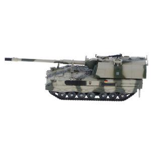 1//72 Diecast Tank German Panzerhaubitze 2000 Self-Propelled Gun Military Model