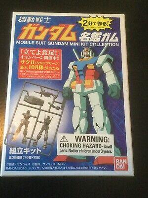 BANDAI SHOKUGAN MOBILE SUIT GUNDAM MINI KIT — # 0570-014-315