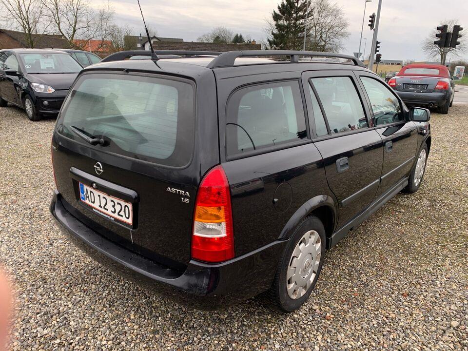 Opel Astra 1,6 Comfort stc. Benzin modelår 2002 km 289000