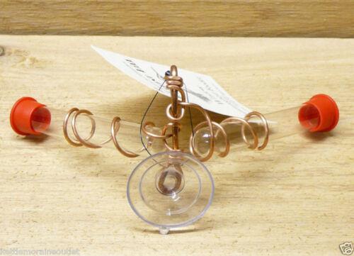 Songbird Essentials Holland Hill Window Copper Hummingbird Nectar Feeder 2 Tube