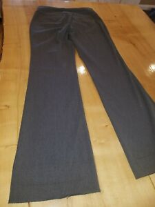 Women-s-Express-Editor-dress-pants-charcoal-gray-SIZE-4R