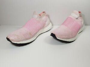 Running Shoes Pink B75856 Sz 8