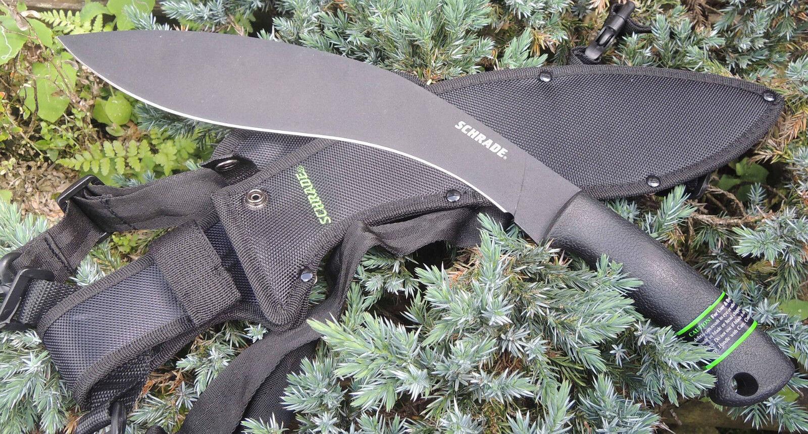 SCHRADE Messer Gurka Gurka Gurka Kukri Machete Buschmesser 3Cr13 Stahl + Scheide SCHGK1 da3ccf