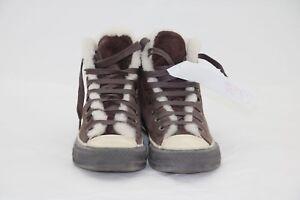 Scarpe Converse marrone Cod. SS286 Uomo camoscio imbottito Scarpette usato