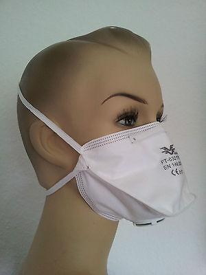 20 X Feinstaubmasken Ffp2 Mit Ventil Staubmaske Atemschutz Maske Atemschutzmaske Reich Und PräChtig