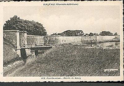 17 ILE D'AIX - fortification, entrée du bourg
