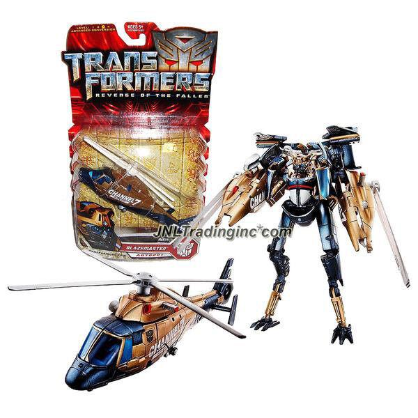 NEW Transformers Revenge of the Fallen Series Deluxe Class 6  Figure BLAZEMASTER