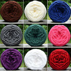 DIY Scarf Sweater Towel Thick Yarn Knitting Chunky Towelling Yarn Ball Braw Gift