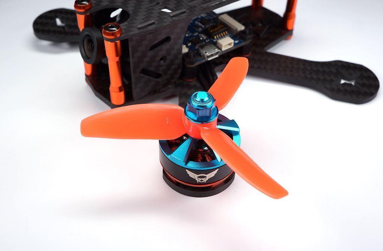 3x3x3 spinta RACING elica dal HQ Naze 32 FPV props 3030 f4 f3 KISS arancia