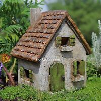 Miniature Morning Glory Cottage For Fairy Faerie Gnome Hobbit Garden In/outdoor