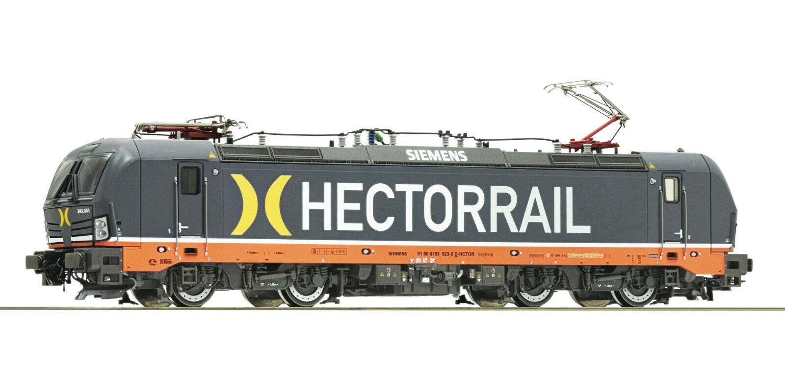 Roco H0 73972 Locomotora Eléctrica Br 243 el Hectorrail - Nuevo + Emb.orig