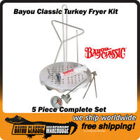 Bayou Classic 0835 Complete Turkey Chicken Poultry Deep Fryer Accessory Kit