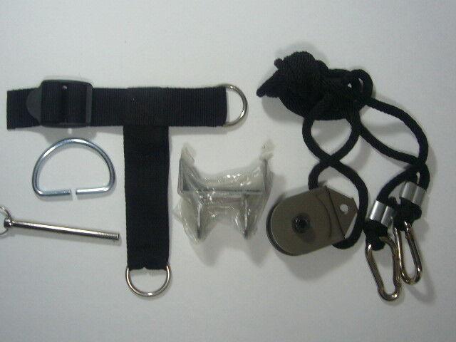 Total Gym Leg Pulley Kit w 2 Leg straps fits 1700 1800 1900 Supra Pilates