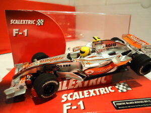 Scalextric Tecnitoys Neu Shrink-Proof Spielzeug Brilliant Mclaren Mercedes Ref.6287