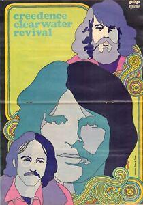 PEP-1971-nr-44-CREEDENCE-CLEARWATER-REVIVAL-POSTER-BARRY-HULSHOF-AJAX