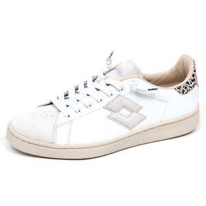 Lotto Leggenda Autograph Bianco Woman Sneaker Shoe E2358 Donna 1nxEwA