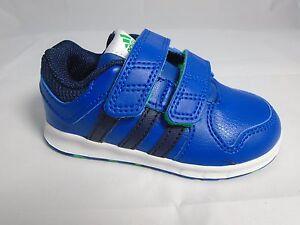 ADIDAS Jungen Schuhe Gr. 23 Sneaker blau Klettverschluss