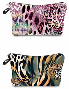 NEW-Leopard-Print-Cosmetic-Bag-034-Aussie-Seller-034-Toiletry-Bag-Pencil-Case-Purse
