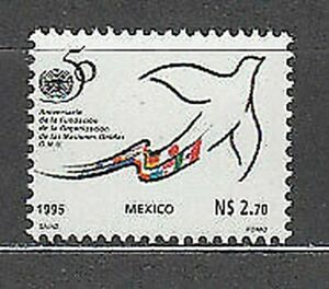 Mexico - Mail 1995 Yvert 1609 MNH United Nations