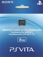Sony Ps Vita (playstation Vita) Memory Card 8 Gb - Ships From Usa