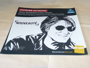 Jacques-Dutronc-Cumpleanos-French-Record-Store-Promocion-Adv-Display