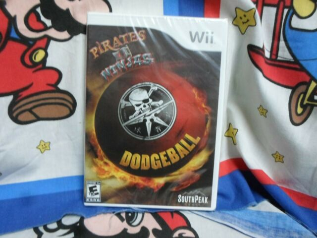 Nintendo Wii Pirates Vs. Ninjas Dodgeball Game BRAND NEW SEALED