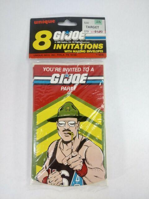 1988 G.I Joe Loot Bags