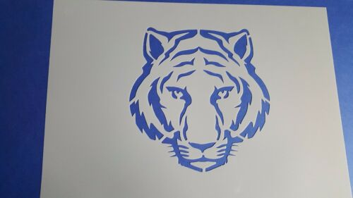 Schablone 500 Tiger Wandtattoo Stencil Leinwand Textilgestaltung Airbrush Wolken