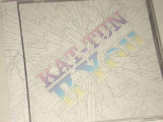 KAT-TUN cartoon II You CD Only Limited Japan Edition Used with OBI cd874