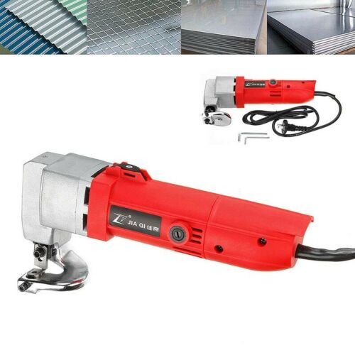 Electric Sheet Metal Shear Tin Snips Cutter Nibbler Snip Scissor Power Tool UK