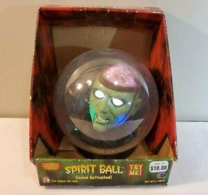 Vtg-Gemmy-Talking-Green-Monster-Frankenstein-Spirit-Ball-w-Box-No-Stand