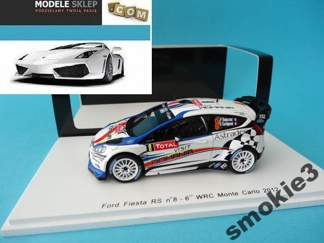 FORD FIESTA WRC DELECOUR MONTE CARLO 2012 SPARK