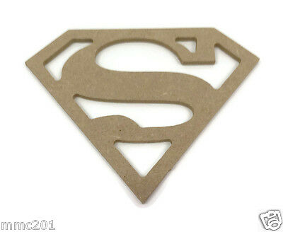 MDF Wooden Superman Shape 6mm 15mm Thick