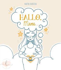 HALLO-Mama-Geschenk-Buch-Weihnachtsgeschenk-fuer-Mama-Schwangerschaft-Geschenk