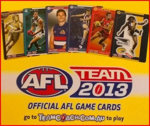 2013 WEST COAST EAGLES SCOTT SELWOOD NEW teamcoach CARD 57  ** reduced **