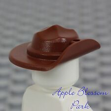 NEW Lego Minifig BROWN RANGER HAT Wide Brim Movie/Explorer/Cavalry Head Gear Cap