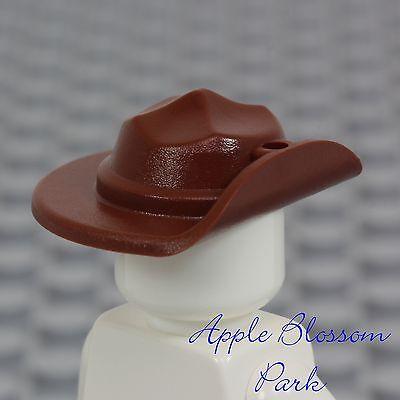 ☀️NEW Lego City Minifig Hat Classic Brown Ranger Wide Brim Explorer Calvary