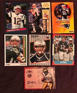 Tom-Brady-7-CARD-LOT-Custom-ACEO-Oddball-Rare-Rookies-Awesome