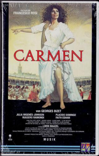 """1 von 1 - VHS - neu & ovp - """" CARMEN """" (1984) - Placido DOMINGO - Georges BIZET"""