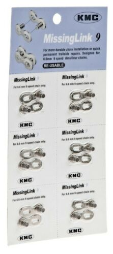 9 SPEED CHAIN KMC Missing Link 9 Speed missinglink RE-USABLE