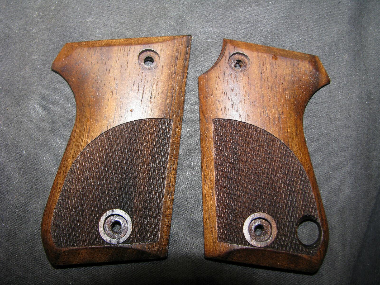 Facultad única  Mikros L  pistola apretones de Nogal Francés Fino A Cuadros  nuevo